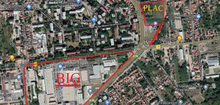 Ekskluzivno zemljište na prodaju u Pančevu – u blizini BIG centra i MOL benzinske pumpe