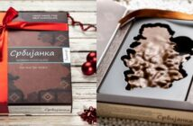 Srbijanka - kutija i čokolada